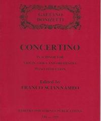 Donizetti, Gaetano (Sciannameo)Concertino in D Minor for Violin, Viola & Orchestra (Piano Reduction)