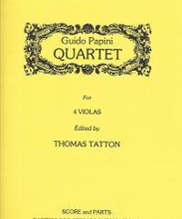 Papini, Guido (Tatton)Quartet for Four Violas(Score and Parts)