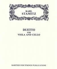 Stamitz, KarlDuetto in C for Viola & Cello